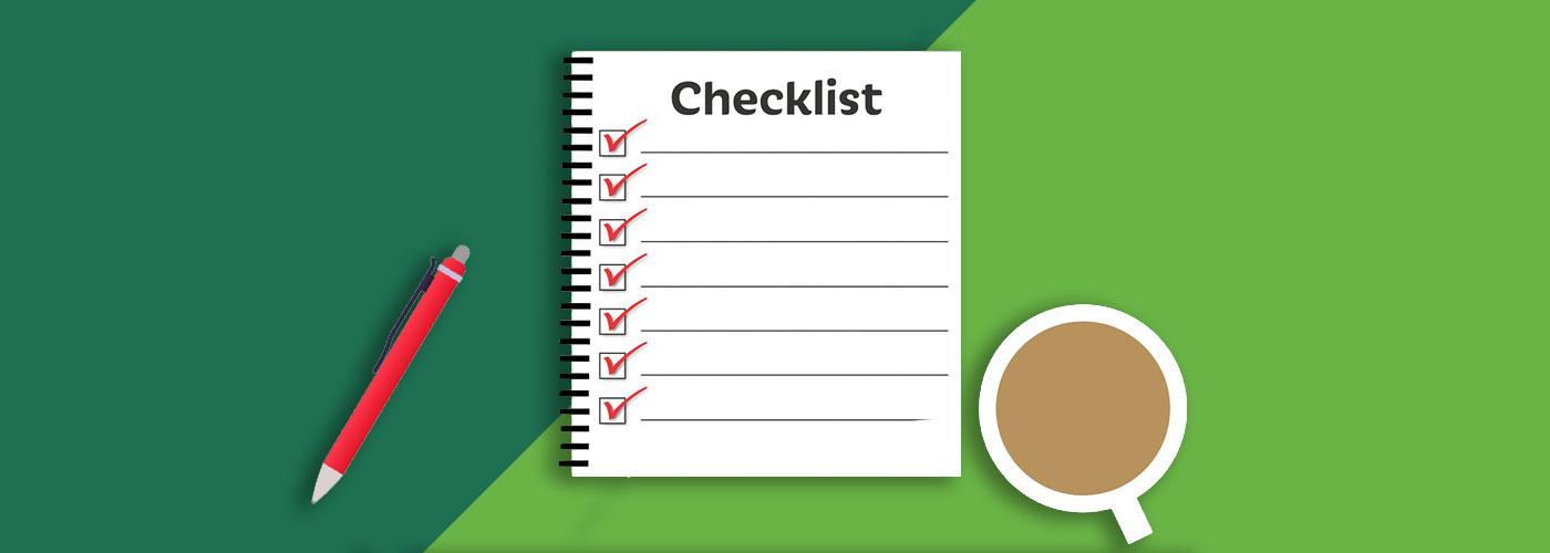 Checklist image for Baker Build